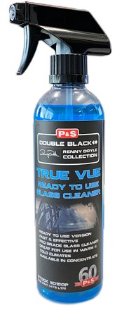The Clean Garage P&S True Vue RTU 16oz | Window and Glass Cleaner Spray