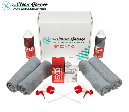 The Clean Garage Gtechniq Crystal Serum Light and EXO V4 Complete Coating Kit 30ml | TCG Exclusive