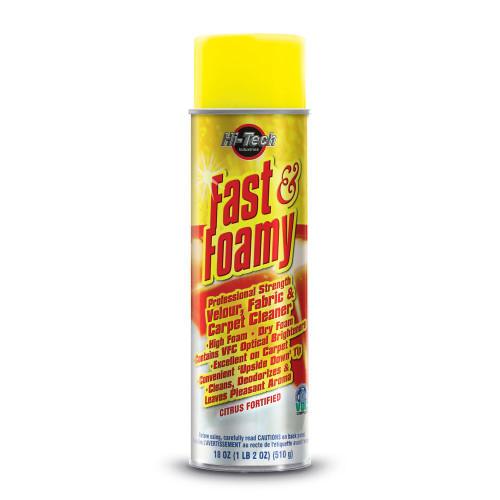 The Clean Garage Hi-Tech Fast & Foamy Carpet and Fabric Cleaner | 18oz Aerosol