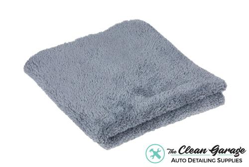 The Clean Garage Plush Edgeless 350 GSM Microfiber Detailing Towel Grey   Korean