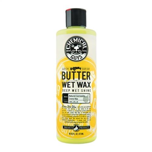 Chemical Guys Butter Wet Wax 16oz | Liquid 100% Caranuba Wax