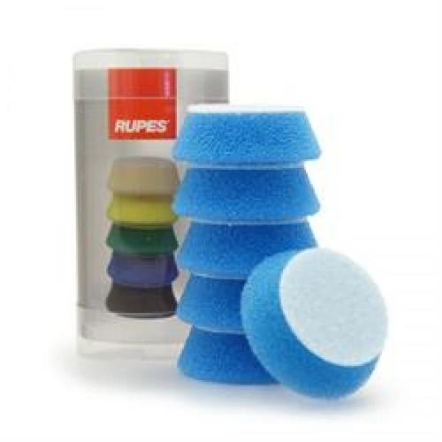"1.5"" Rupes iBrid Nano Pad Blue Foam Coarse  | 6 Pack | For 1"" BP"