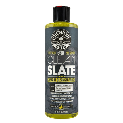Chemical Guys Clean Slate 16oz | Surface Cleanser Strip Wash