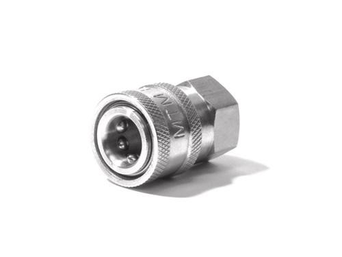 """MTM 1/4"""" Female  Quick Connect Coupler 