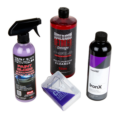 The Clean Garage Paint Decontamination Kit | Iron Remover Clay Bar