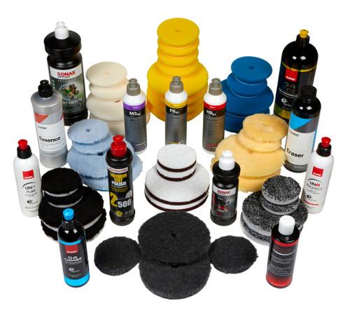 TCG Ultimate Paint Correction Starter Kit | 53 Item Polishing Combo