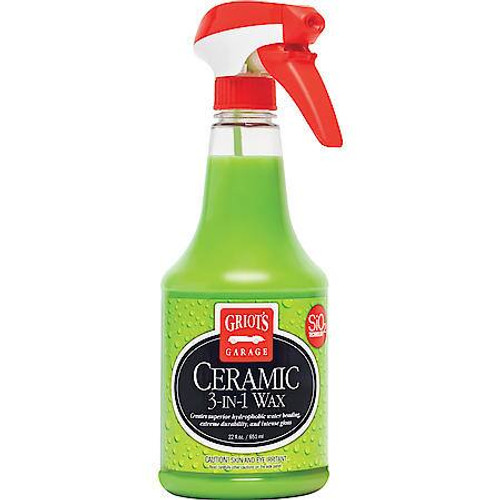 Griot's Garage Ceramic 3-in-1 Wax 22 oz | Spray Coating
