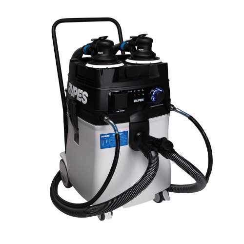 RUPES S245 Portable Vacuum Long Hose Kit | 9 Random Orbital Sander Options