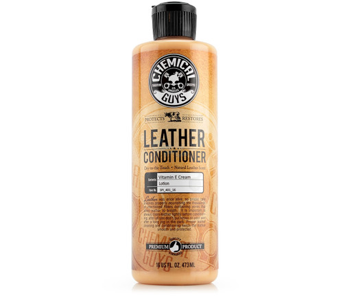 Chemical Guys Leather Conditioner 16oz | Preserves Vinyl & Leather