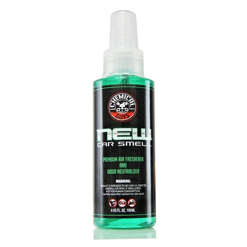 Chemical Guys New Car Smell Air Freshener 4oz   Odor Eliminator