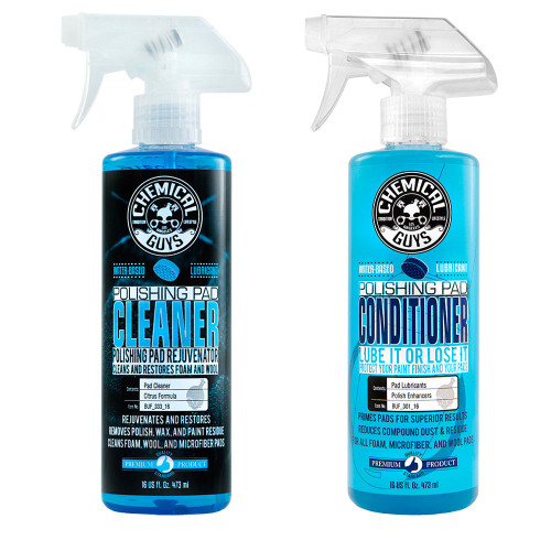 Chemical Guys Polishing Pad Cleaner & Conditioner Spray Combo Kit