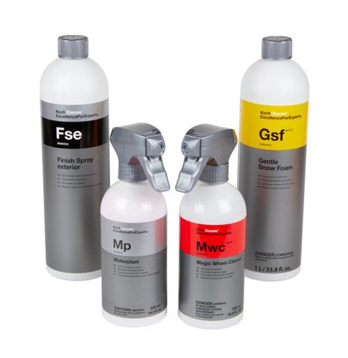 Clean Garage Koch Chemie Best Sellers Combo | Detailing Starter Kit