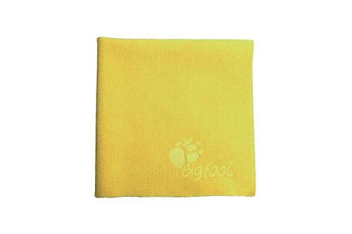 The Clean Garage RUPES DA Fine Yellow Microfiber Towel | 16x16 Polish Removal