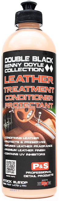 The Clean Garage P&S Leather Treatment 16oz | Double Black Leather Conditioner