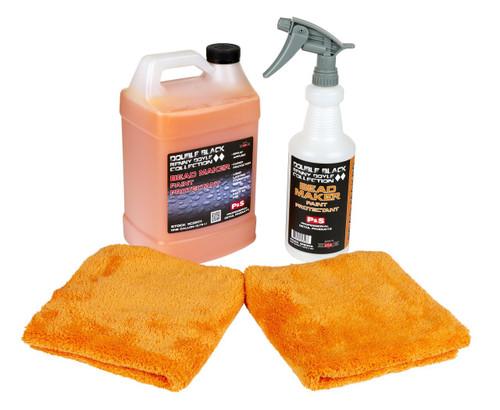 Clean Garage P&S Bead Maker Kit 1 | 1 Gallon 32oz Spray Bottle & 2 Towels