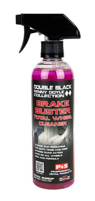 Clean Garage P&S Brake Buster 16oz | Double Black Wheel & Tire Cleaner