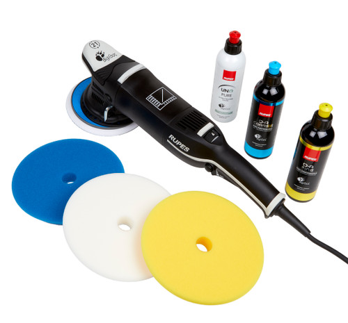 Clean Garage Rupes LHR21 Mark III Polisher Kit | Bigfoot Combo 1 | DA Polish & Pads