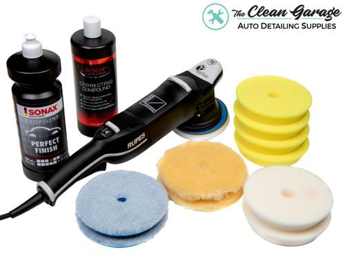 The Clean Garage Rupes LHR15 Mark III Polisher Kit | Bigfoot Combo 5 | Sonax Jescar