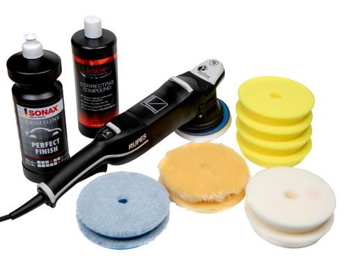 Clean Garage Rupes LHR15 Mark III Polisher Kit   Bigfoot Combo 5   Sonax Jescar