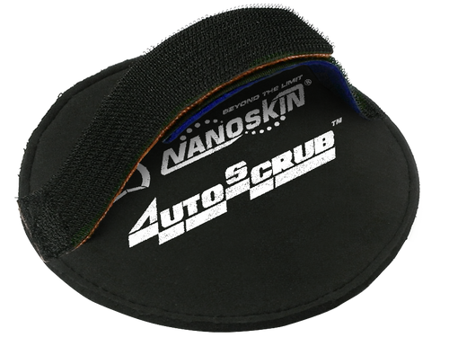 "NanoSkin AutoScub Hand Strap Applicator | For 6"" Pads"
