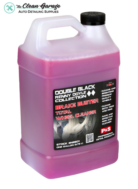 The Clean Garage P&S Brake Buster 1 Gallon   Double Black Wheel & Tire Cleaner