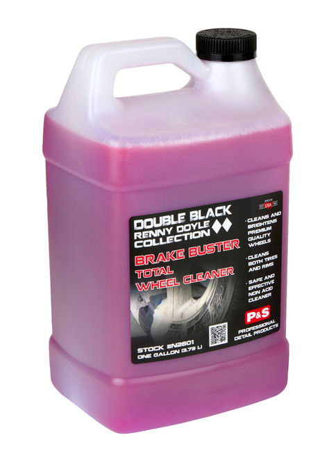 Clean Garage P&S Brake Buster 1 Gallon | Double Black Wheel & Tire Cleaner