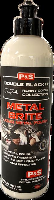 The Clean Garage P&S Metal Bright 16oz | Double Black Metal Brite Aluminum Polish