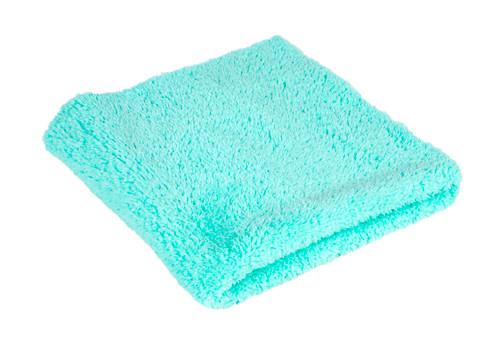 Plush Edgeless 350 GSM Microfiber Detailing Towel Mint Green | Korean
