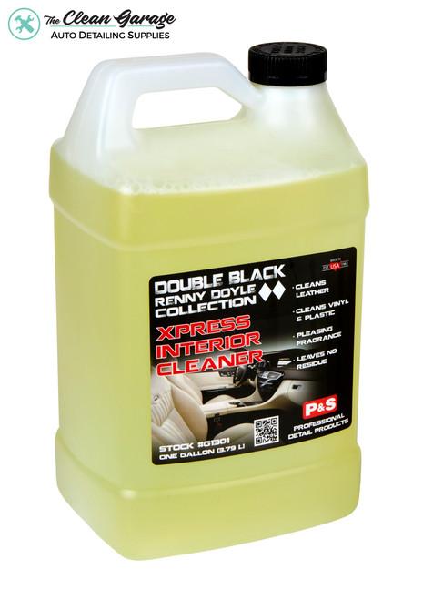 The Clean Garage P&S Xpress Interior Cleaner 1 Gallon | Double Black Interior Detailer