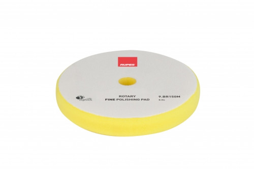 """The Clean Garage Rupes Yellow Foam Rotary Pad Fine Polishing 5.25"""" 