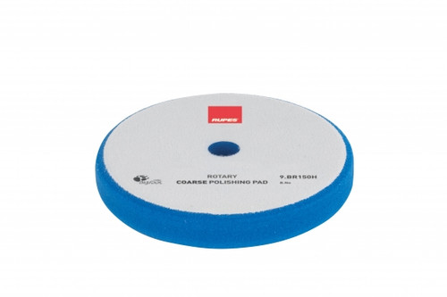 """Rupes Blue Foam Rotary Pad Coarse Cutting 5.25"""" 