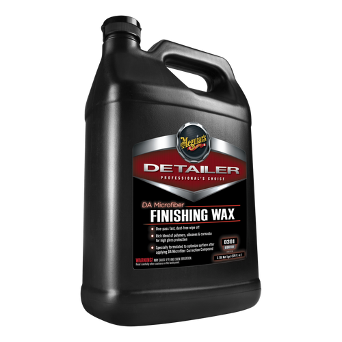 Meguiar's DA Microfiber Finishing Wax   D301 1 Gallon