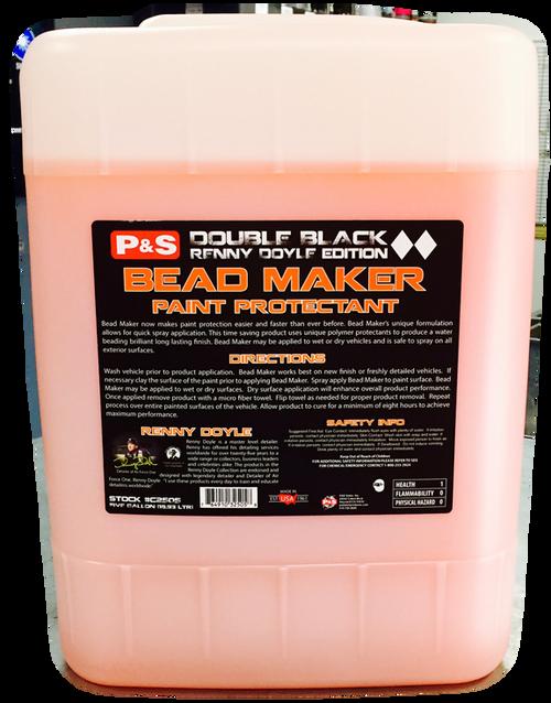 The Clean Garage P&S Bead Maker 5 Gallon   Double Black Spray Sealant