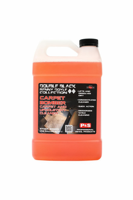 The Clean Garage P&S Carpet Bomber 1 Gallon | Double Black Carpet Upholstery Cleaner