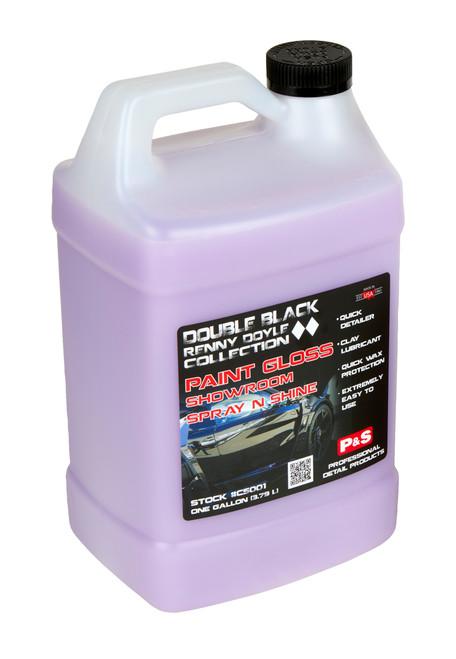 Clean Garage P&S Paint Gloss 1 Gallon | Double Black Detail Spray