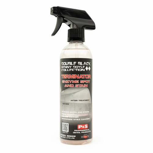 The Clean Garage P&S Terminator 16oz | Interior Cleaner Enzyme Spot & Stain Remover