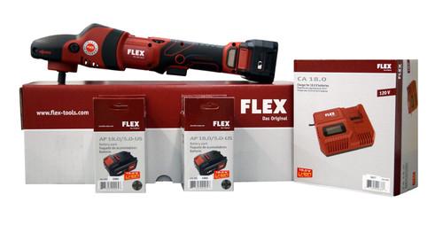 Flex  PE 150 18.0-EC/5.0 | Cordless Rotary Polisher Kit