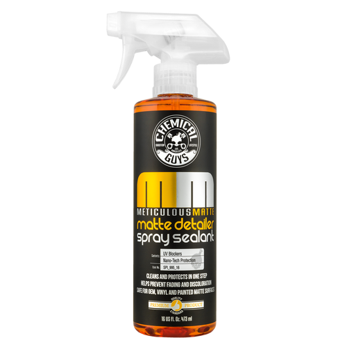 Chemical Guys Meticulous Matte Deatailer 16oz | Detail Spray & Sealant
