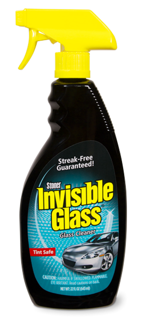 The Clean Garage Stoner Invisible Glass 22 oz Spray | Window & Glass Cleaner
