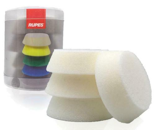 "2.75"" Rupes iBrid Nano Pad White Foam | 4 Pack | For 2"" BP"