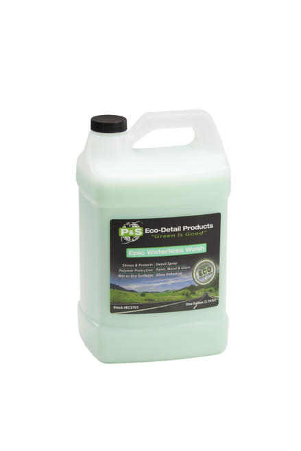 The Clean Garage P&S Epic Waterless Wash 1 Gallon | Eco Detail Products