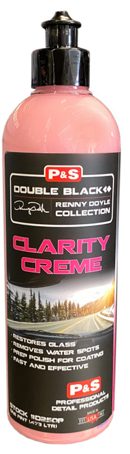 The Clean Garage P&S Clarity Creme 16oz | Glass Polish & Water Spot Remover