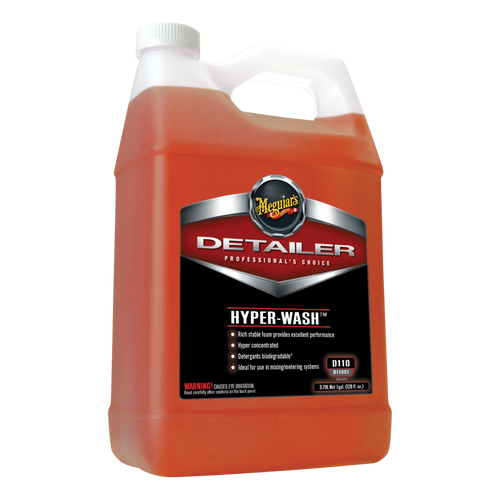 Meguiars D110 Hyper Wash 1 Gallon | Highy Concentrated Car Shampoo