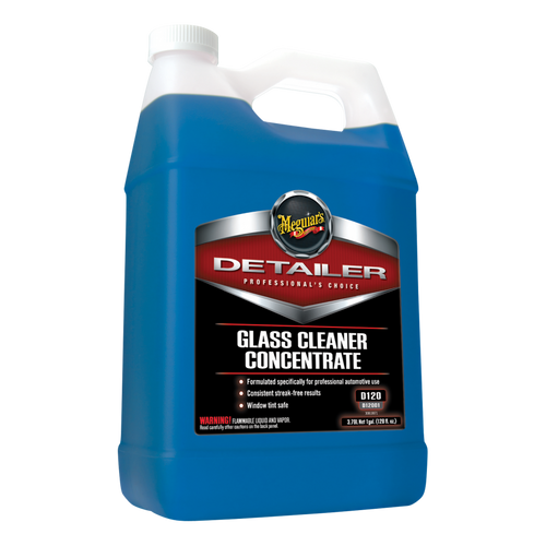 The Clean Garage Meguiars D120 Glass Cleaner 1 Gallon | Concentrated D12001
