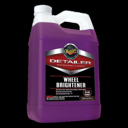 The Clean Garage Meguiars D140 Wheel Brightener 1 Gallon | Wheel Acid Based Cleaner