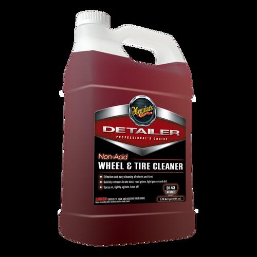 The Clean Garage Meguiars D143 Non Acid Wheel and Tire Cleaner 1 Gallon | D14301