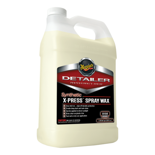 Meguiar's D156 Synthetic X-press Spray Wax 1 Gallon