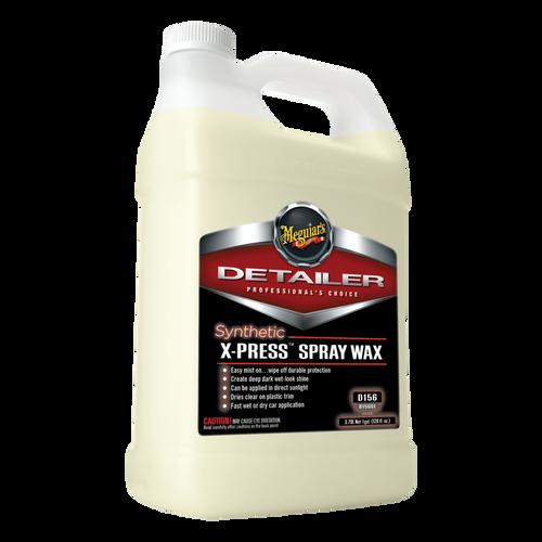 The Clean Garage Meguiars D156 Synthetic X-press Spray Wax 1 Gallon | High Gloss Polymer