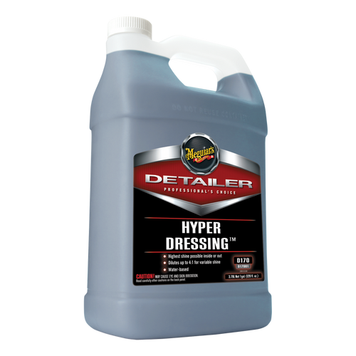 The Clean Garage Meguiars D170 Hyper Dressing 1 Gallon | Concentrated Tire Trim Interior Shine