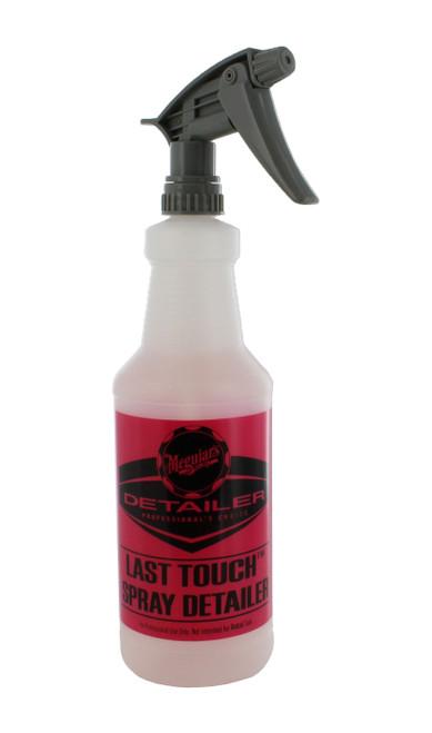 The Clean Garage Meguiar's D155 Last Touch Detailing Spray 32oz Empty Bottle with Trigger